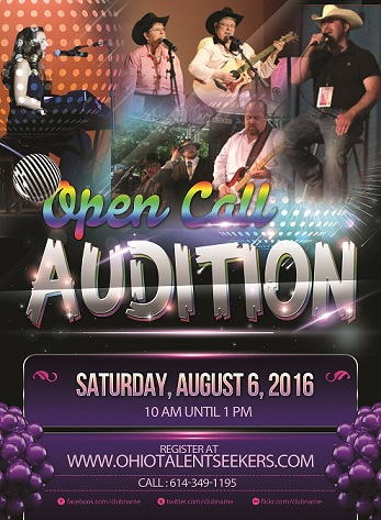 Ohio Talent Seekers Auditions